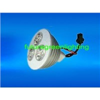 High Power LED Spot Light in Single Color-MR16 3*1W (FG-HP-MR16-16(C6)-3*1W-XX)