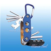 11pc Folding Hex Key Wrench (CH-HW019)