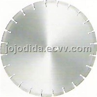 Cured and reinforced concrete blade
