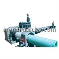 HDPE Heavy-Calibre Reinfored Winding Pipes Production Line