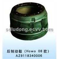 Howo Truck Parts- Brake Drum (AZ9112340006)