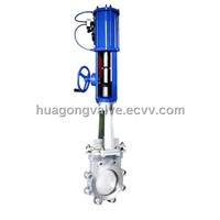 Hand and Pneumatic Knife Gate Valve