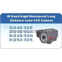 IR Day & Night Waterproof Long Distance Color CCD Camera