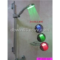 Illuminated LED Shower Head