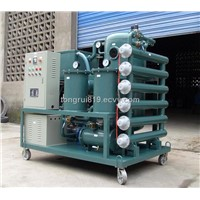 One stage vacuum transformer oil regeneration machinery