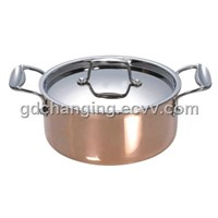 Stainless Steel 3-Ply Casserole