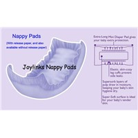 baby nappy pads, adult nappy pads,diaper pads