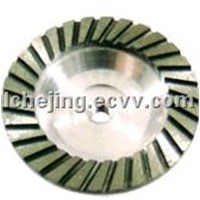 Diamond Grinding Wheel (Turbo Row Cup Wheel with Aluminum Base)