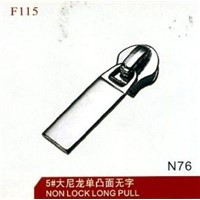 wholesale NO.7 nylon non lock long pull