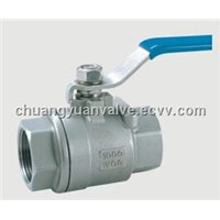 2pc Ball Valve with Internal Female
