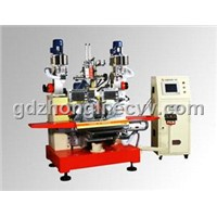 5-Axis & 3-head Drilling/Tufting Machine