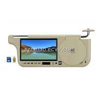 7 Inch Car Sunvisor DVD Player (ZC-701B)
