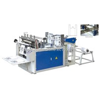 Computer Heat sealing and Heat cutting Bag making Machine(Double photocell)