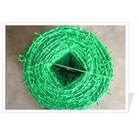 Barbed Wire - PVC Coated