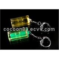 Bubble Level with Key Ring (EV-V912)