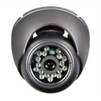 CCTV 1/4-inch Sharp Color Vandaproof Dome CCD Camera with IR View Distance of 5-15m