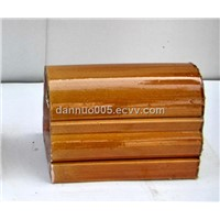 Decorative roof ridge tile