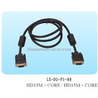 Computer cable,RGB cable,VGA cable
