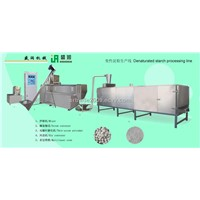Denaturate starchprocessing line