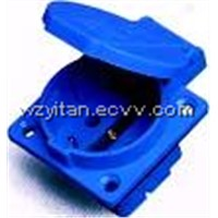 Industrial Socket & Plug (E-112R)