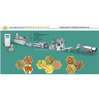 Fried Pellets Chips Processing Line