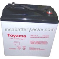 Gel Battery - 6V225AH (NPG90-12)