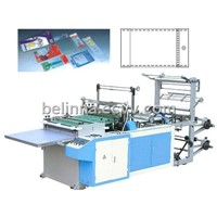 Heat Seal And Cut Bag Making Machine
