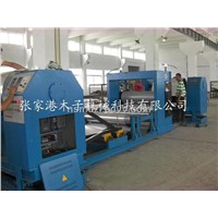 Metal embossing production line