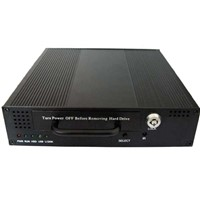 Mobile DVR in MPEG4 compression form with CCTV Cameras and Quad Screen LCD Monitor