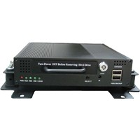 Mobile DVR with CCTV Cameras and Quad Screen LCD Monitor