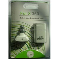 Xbox360 Play And Charger Kits 3600MA/2100MA