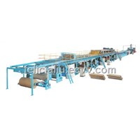 cardboard production line