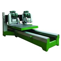 Stone machine (double blades cutter)