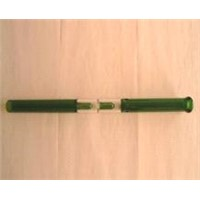 green perculator waterpipe