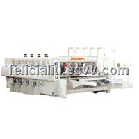 High Speed Printing Slotting Machine