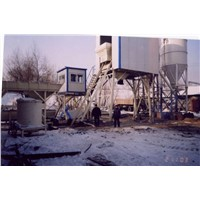 Twin-Shaft Concrete Batching Plant