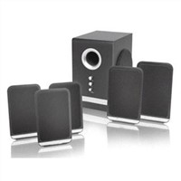 5.1 Computer Desktop Theater Speakers With NXT Flat Panel Satellites (LUX5502)