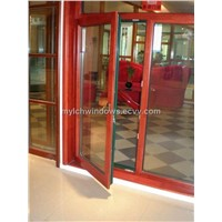 Aluminium With Wood Cladding Windows (MYLCH-003)