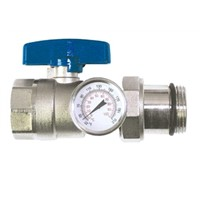 Ball Valve with the Thermometer