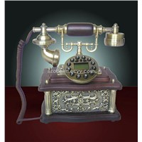 Decorative telephone made of wooden(CY-523)