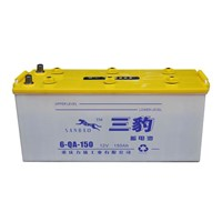 Dry Charged Car Battery (6-QA-150)