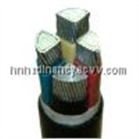 Electric Cable with XLPE Insulated and PVC Sheath