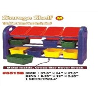 Kids Toys Storage Shelf