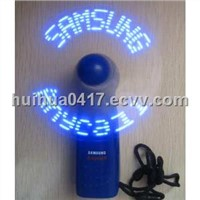 LED Message mini fan