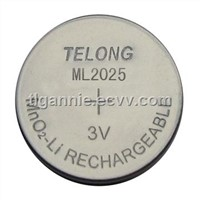 Lithium Rechargeable Battery (ML2025)