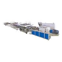 PVC Paint Free Foamed Plate Production Line