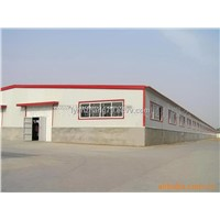 Prefabricated Steel Industrial Wokshop