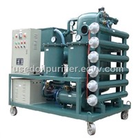 Single-Stage Vacuum Transformer Oil Refining Machine