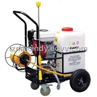 Trolly Sprayer with Tank