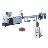 Vented Recycling and Mixing Color Making Granular Extruder